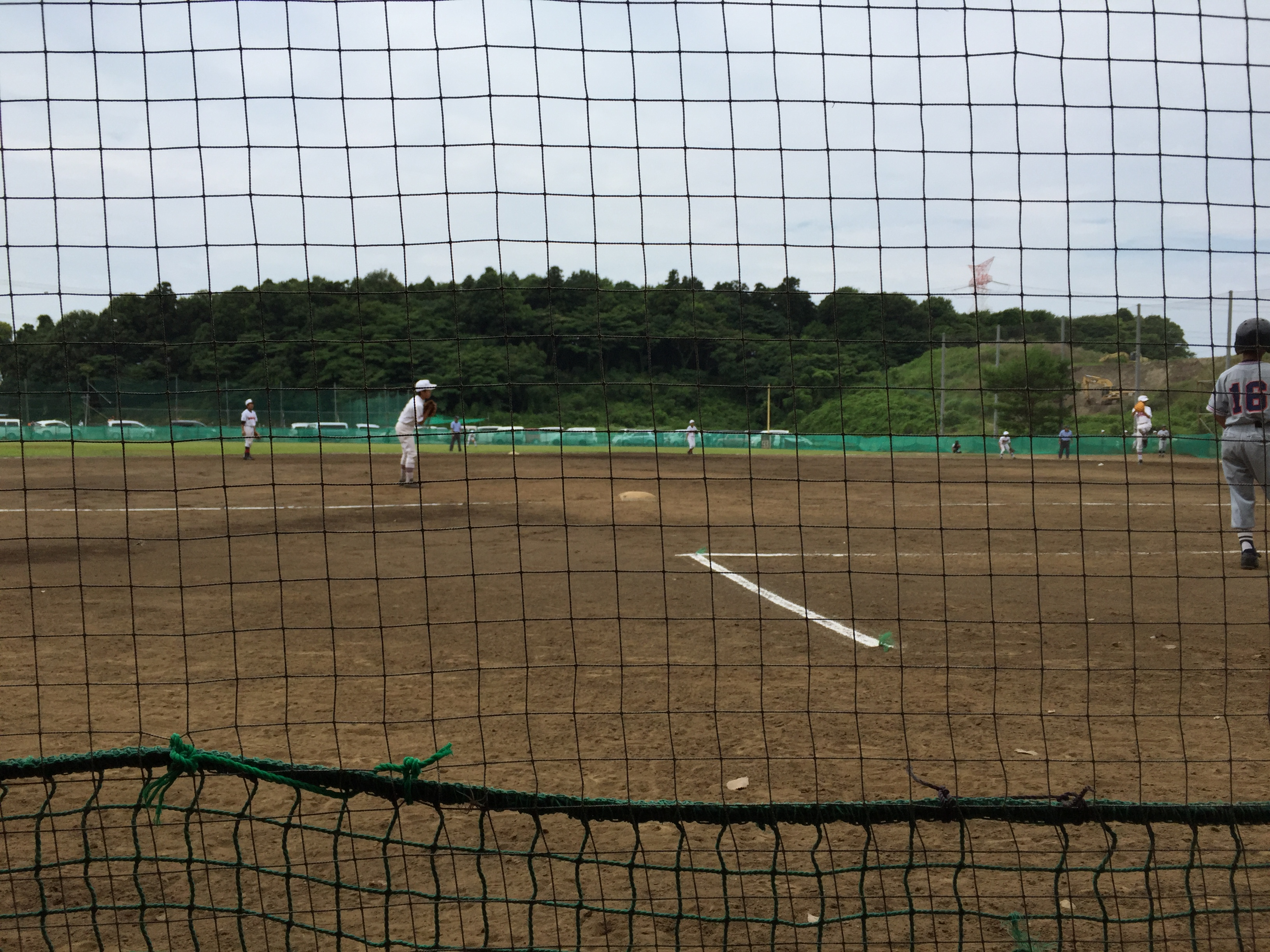 試合模様対柏シニア千葉日報社杯2016